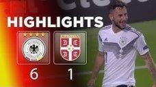خلاصه بازی آلمان 6 - صربستان 1 (زیر 21 سال اروپا)