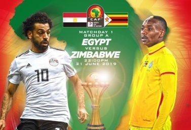 خلاصه بازی مصر 1 -  زیمبابوه 0 ( جام ملت های آفریقا 2019)