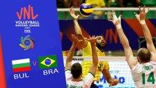 خلاصه والیبال برزیل 3 - بلغارستان 1 (لیگ ملتهای والیبال)