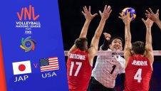 خلاصه والیبال آمریکا 3 - ژاپن 0 (لیگ ملتهای والیبال)