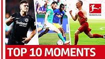 10 لحظه به یادماندنی بوندسلیگا در فصل 19-2018