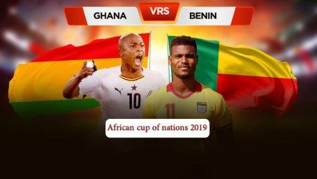 خلاصه بازی غنا 2 - بنین 2 (جام ملتهای آفریقا)