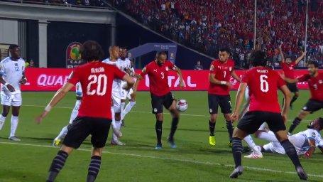 گل اول مصر به کنگو (احمد المحمدی)