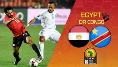 خلاصه بازی مصر 2 - کنگو 0 (جام ملتهای آفریقا)