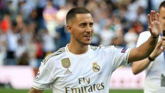 شماره جادویی رئال مادرید به هازارد می رسد