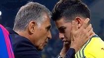 عملکرد خامس رودریگز در مقابل تیم ملی شیلی