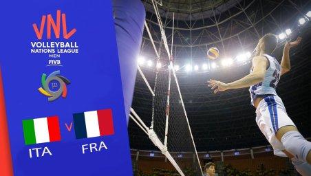 خلاصه والیبال فرانسه 3 - ایتالیا 1 (لیگ ملت های والیبال)