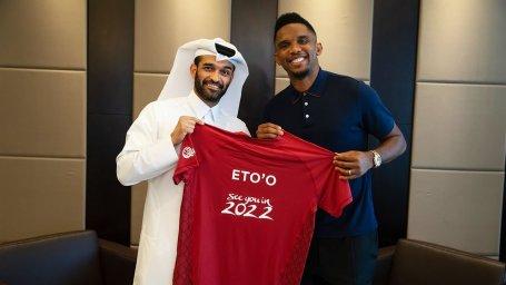 انتخاب ساموئل اتوئو به عنوان سفیر جام جهانی 2022 قطر