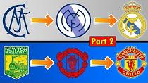 مسیر تحول و تغییرات در طراحی لوگوی باشگاههای مطرح