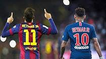 مقایسه نیمار در بارسلونا با عملکرد او در PSG