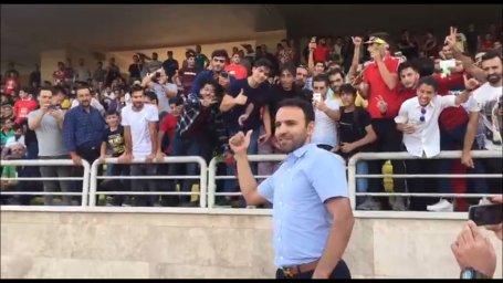 درخواست محسن خلیلی از هواداران در اولین تمرین