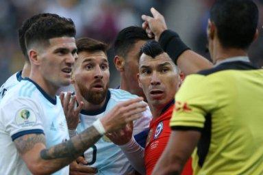 خلاصه بازی آرژانتین 2 - شیلی 1 (گزارش قانع)