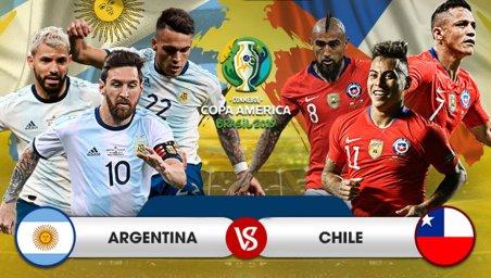 خلاصه بازی آرژانتین 2 - شیلی 1 (گزارش اختصاصی)