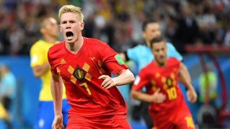 یک سال پیش؛ پیروزی شیرین بلژیک مقابل برزیل