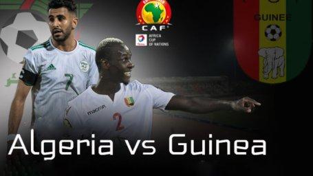 خلاصه بازی الجزایر 3 - گینه 0 (جام ملت های آفریقا)