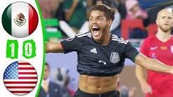 خلاصه بازی آمریکا 0 - مکزیک 1 (فینال کونکاکاف)