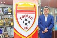 صحبت های رضایی درباره آخرین وضعیت تیم فولاد خوزستان