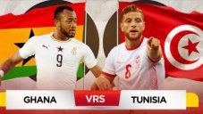خلاصه بازی غنا 1 - تونس 1 + پنالتی (جام ملت های آفریقا)