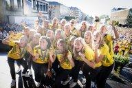 استقبال پرشور از تیم ملی زنان سوئد(عکس)