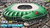 استادیوم های جدید بازی فیفا 20