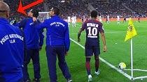 لحظات ثبت شده از عدم علاقه بازیکنان و هواداران PSG به نیمار