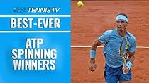 ضربات حرفهای بازیکنان تنیس