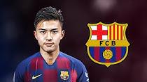تکنیک ها و مهارتهای هیروکی آبه بازیکن جدید بارسلونا