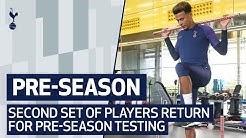 بازگشت بازیکنان ملی پوش تاتنهام به تمرینات پیش فصل