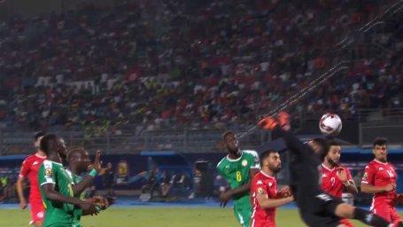 گل اول سنگال به تونس ( گل به خودی فریانی ساسی)