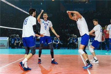 ست چهارم والیبال روسیه - آمریکا (لیگ والیبال ملت ها)