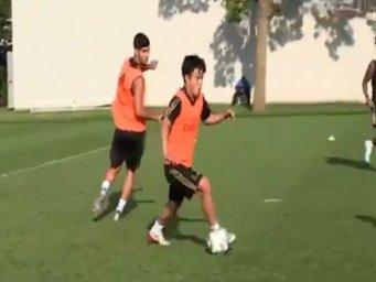 عملکرد فوق العاده تاکسوفاکوبو در تمرینات رئال مادرید