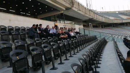 مارک ویلموتس نظاره گر عملکرد بازیکنان تیم ملی
