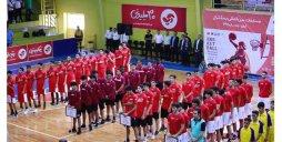 برگزاری مراسم افتتاحیه مسابقات بینالمللی بسکتبال
