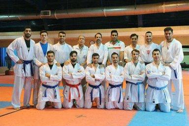 آخرین تمرین تیم ملی کاراته برای تاتامی آسیا