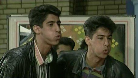 فرهاد و فرزاد مجیدی در مسابقه تلوزیونی دهه 70