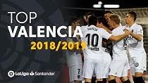 برترین گلهای والنسیا در لالیگا فصل 19-2018