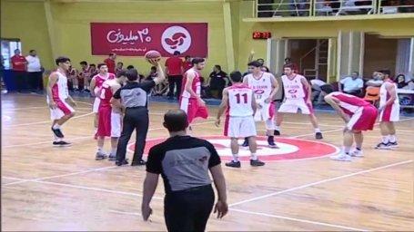 خلاصه بسکتبال نوجوانان ایران - جوانان ایران