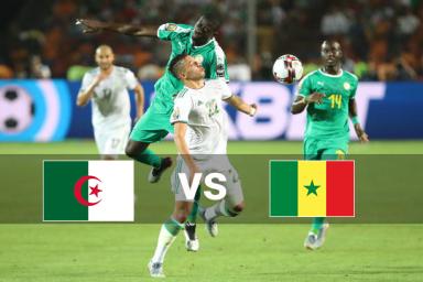 خلاصه بازی سنگال 0 - الجزایر 1 (فینال جام ملتهای آفریقا)