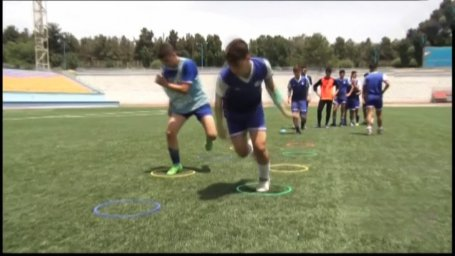 گزارشی از تمرین آکادمی استقلال تهران