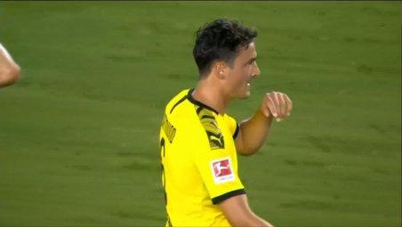 گل دوم دورتموند به لیورپول (توماس دلینی)