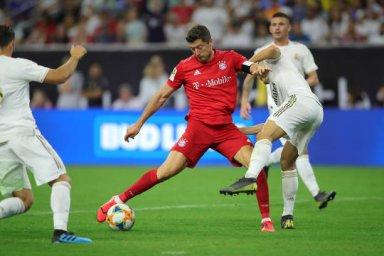 گل دوم بایرن مونیخ به رئال مادرید توسط لواندوفسکی