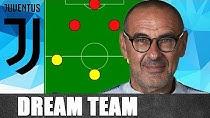 تیم مد نظر ساری برای یوونتوس در فصل 20-2019