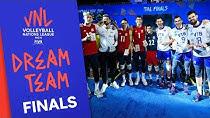 تیم منتخب لیگ والیبال ملتها به انتخاب فدراسیون جهانی