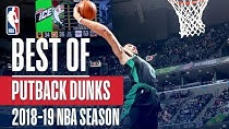 برترین پوت بک دانک های NBA در فصل 19-2018