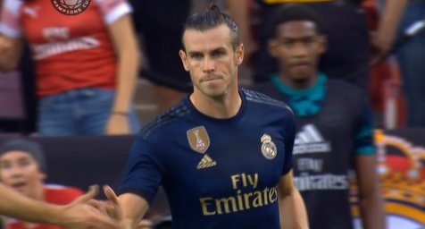 گل اول رئال مادرید به آرسنال ( گرت بیل )