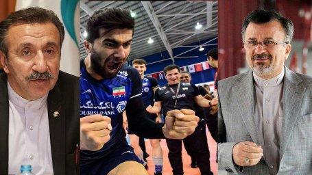 بررسی عدم پخش بازی والیبال جوانان از زبان داوری,داورزنی و ایرانیها