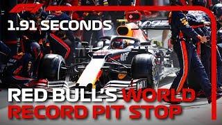سریع ترین پیت استاپ تاریخ توسط تیم ردبول در فرمول 1 بریتانیا