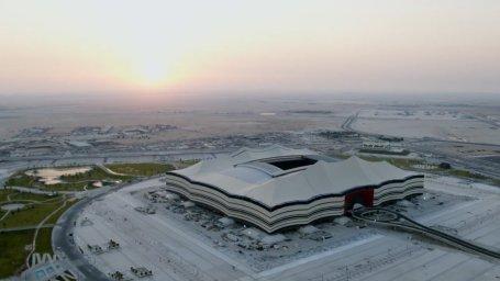 ساخت ورزشگاههای مدرن برای جامجهانی 2022 قطر