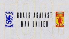 5 گل برتر چلسی برابر منچستر یونایتد