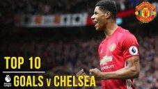 10 گل برتر منچستریونایتد برابر چلسی در لیگ جزیره